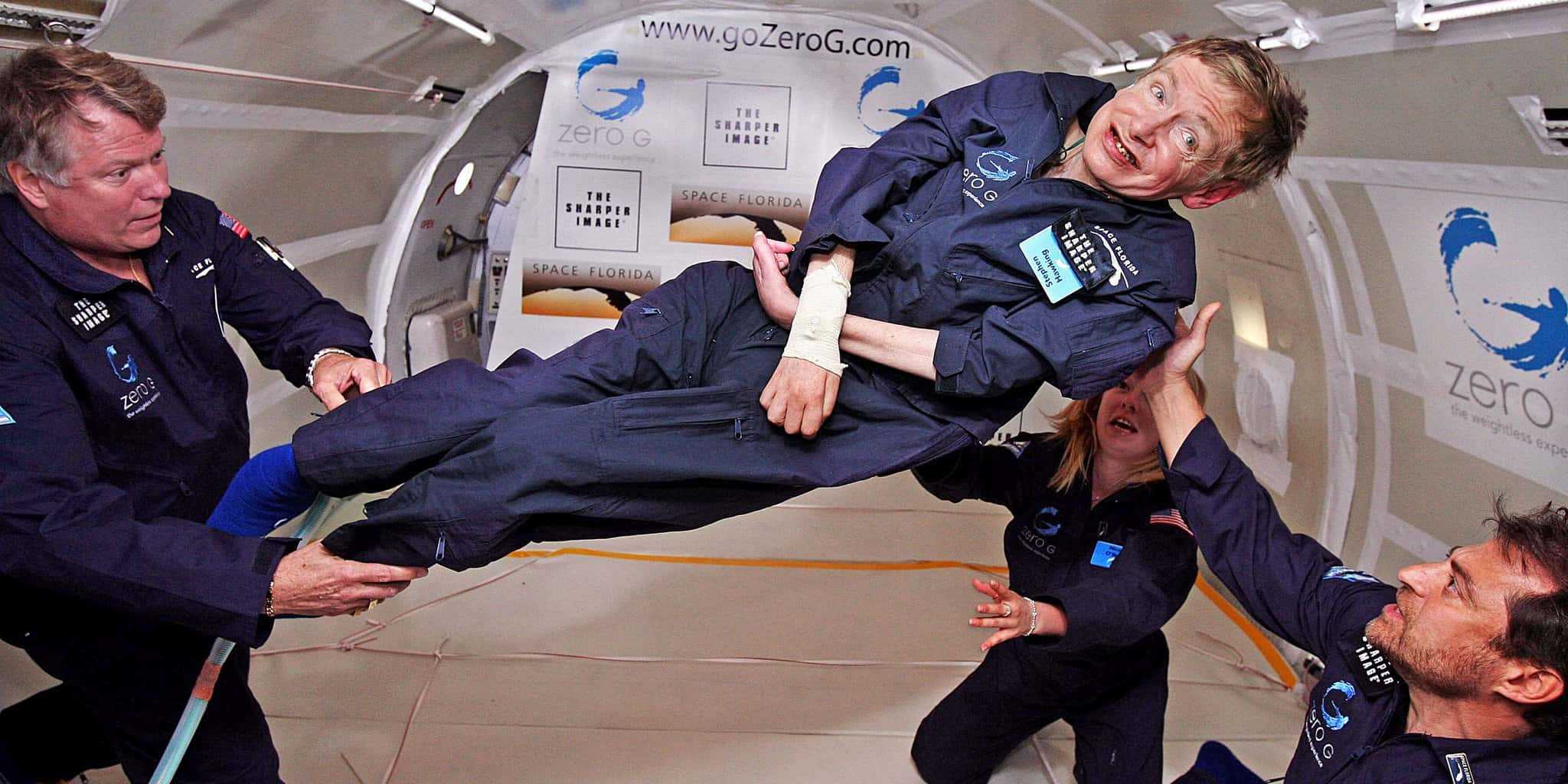 Interesting Stephen Hawking Facts zero gravity