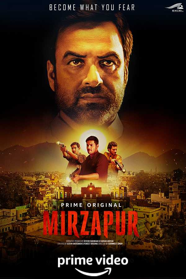 Mirzapur Best show on Amazon Prime India
