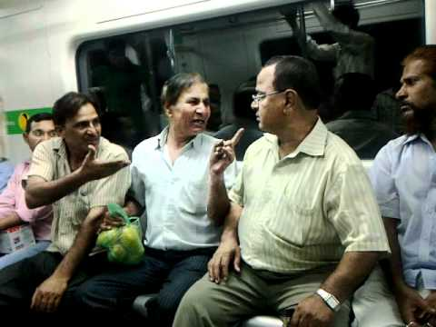 types of people you will see in the metro debates in delhi metro