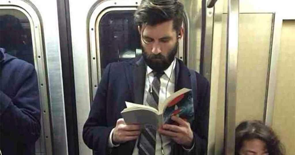 types of people you will see in the metro the novel reader