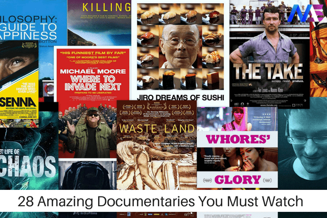 28 Amazing Documentaries You Must Watch Before You Die