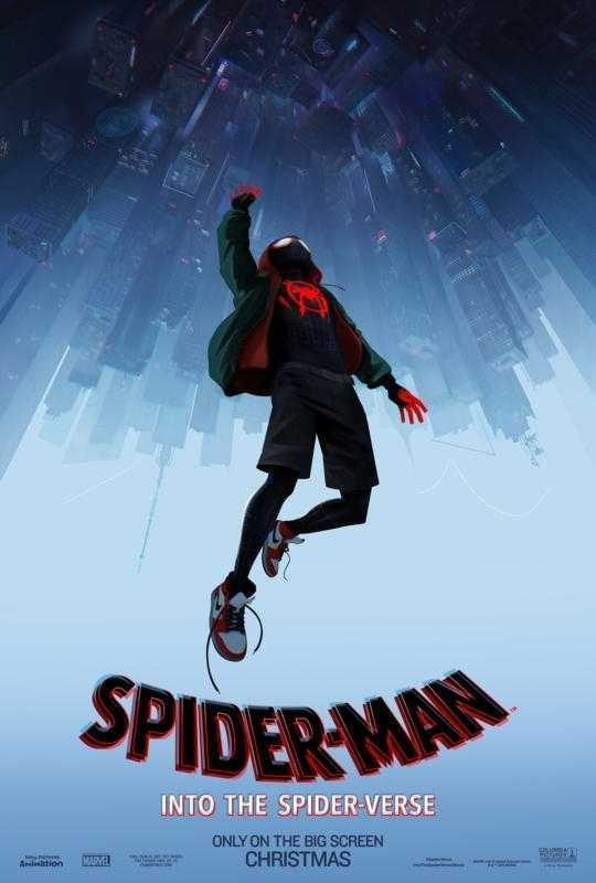 spiderman into spider verse