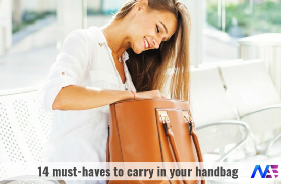 14 must-haves in your handbag