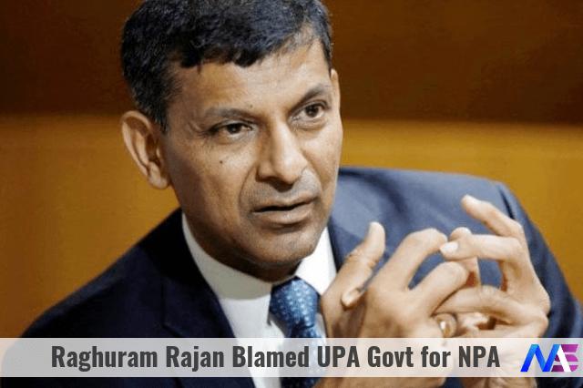 Raghuram Rajan Blamed UPA Govt for NPA (1)