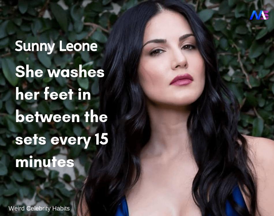 weird celebrity habits