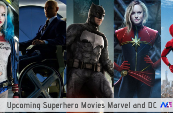 upcoming superhero movies marvel and dc