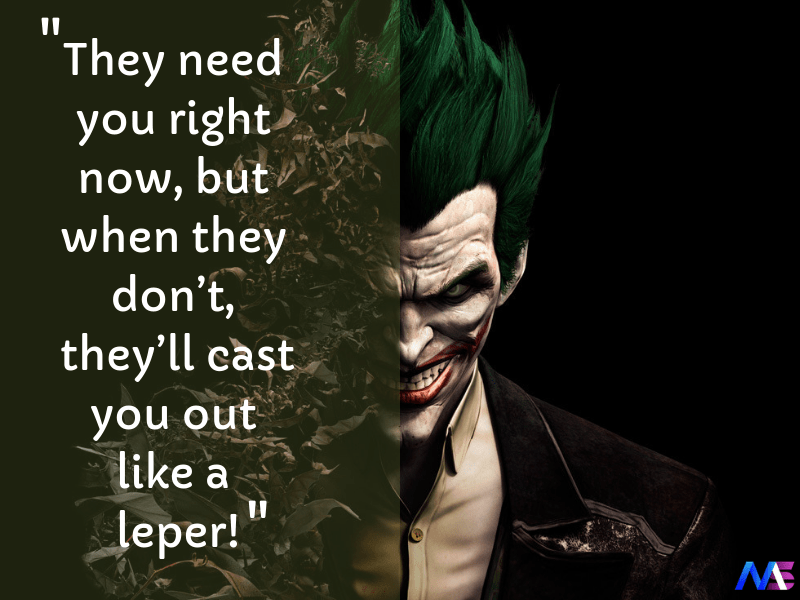 awesome quotes by joker