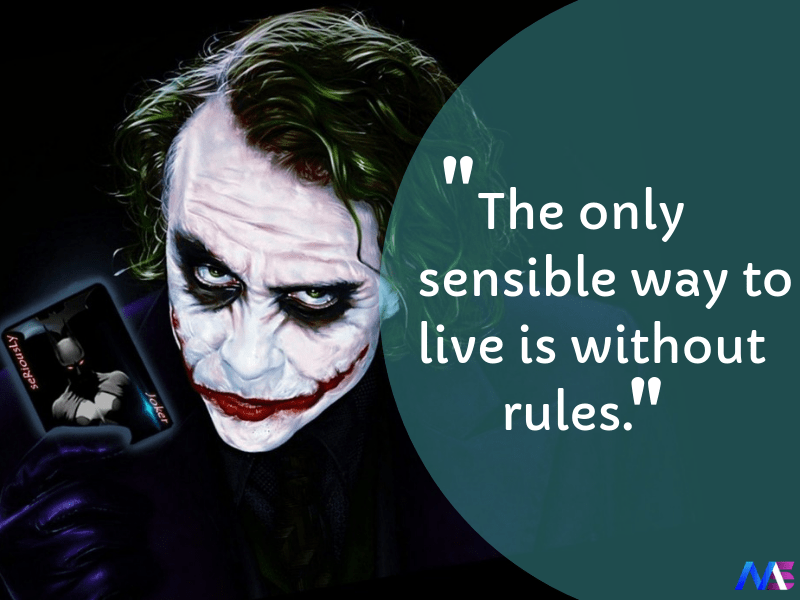25 Awesome Quotes By Joker That Tell A Truth Or Two About Real Life