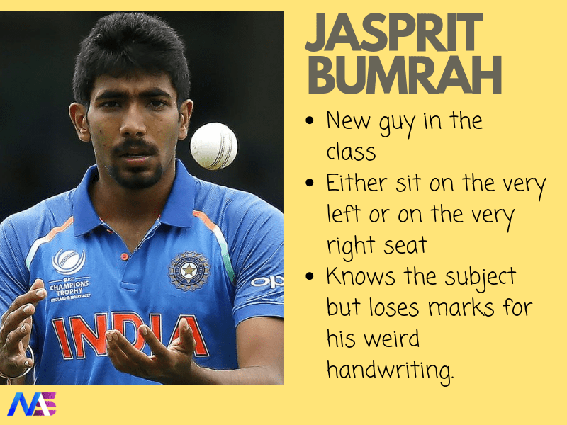 What If Indian Cricket Players Were Students of a Class