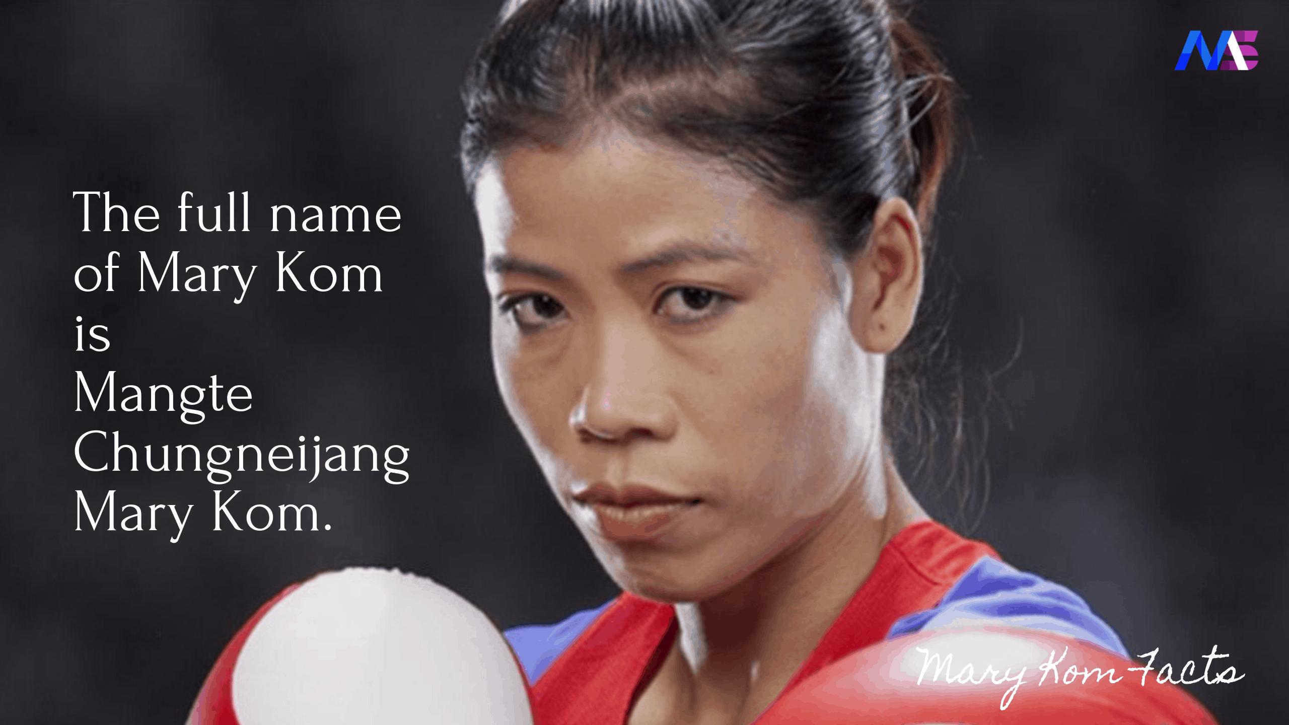 Mary Kom Facts 1
