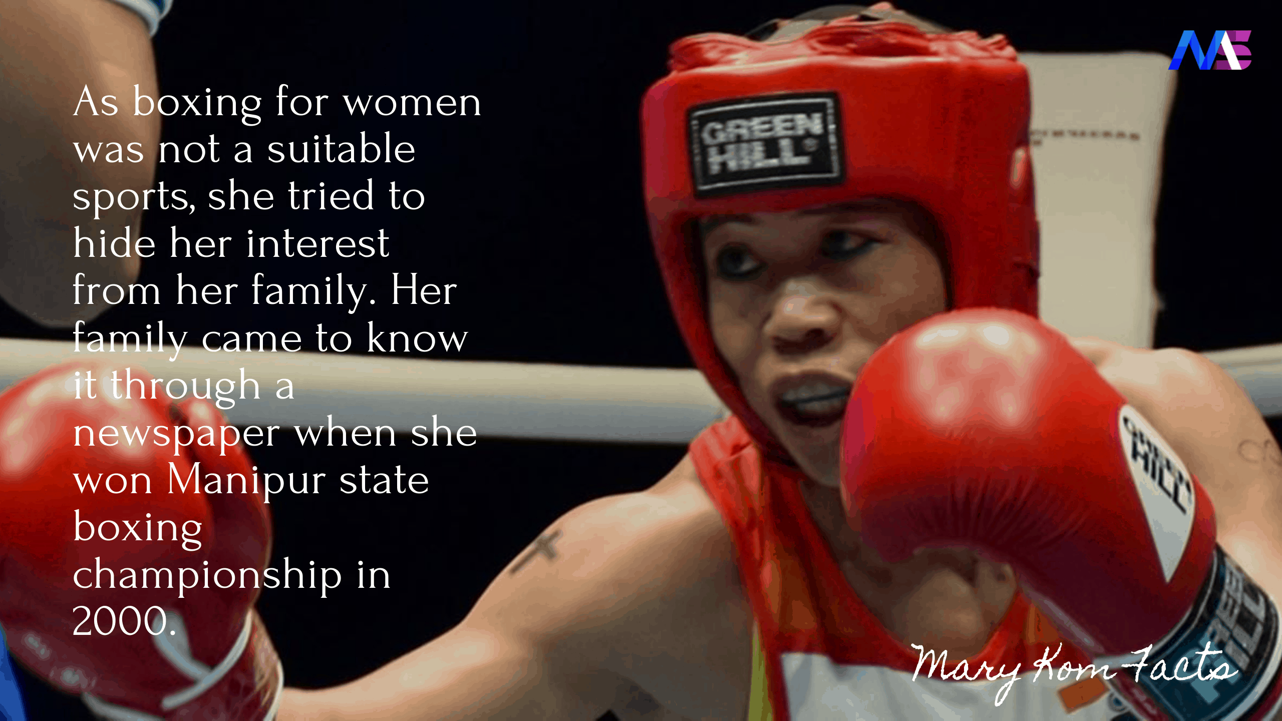 Mary Kom Facts 6