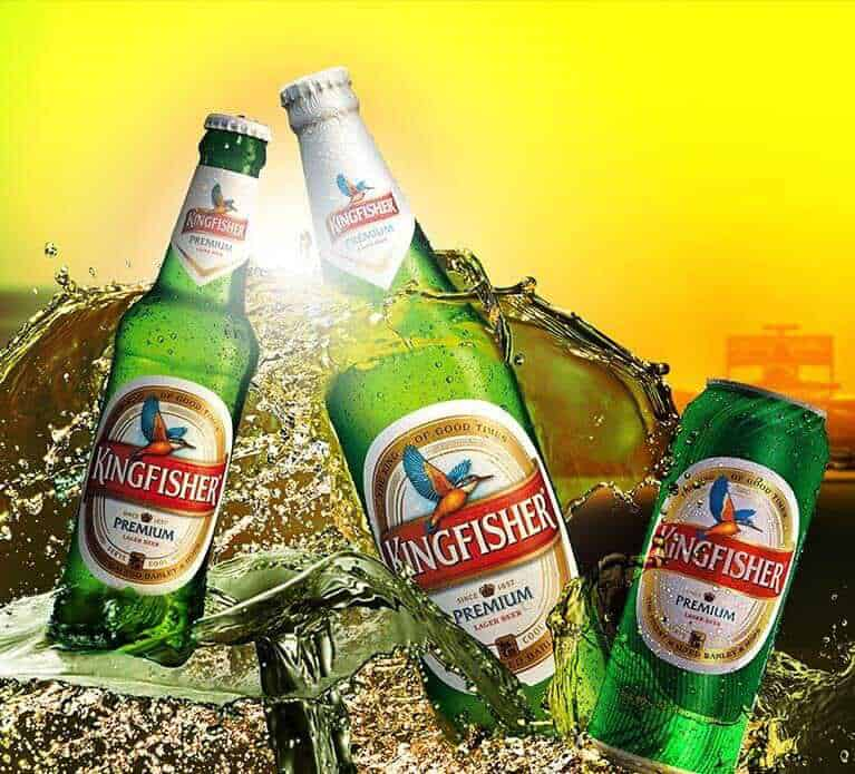 Kingfisher beer india