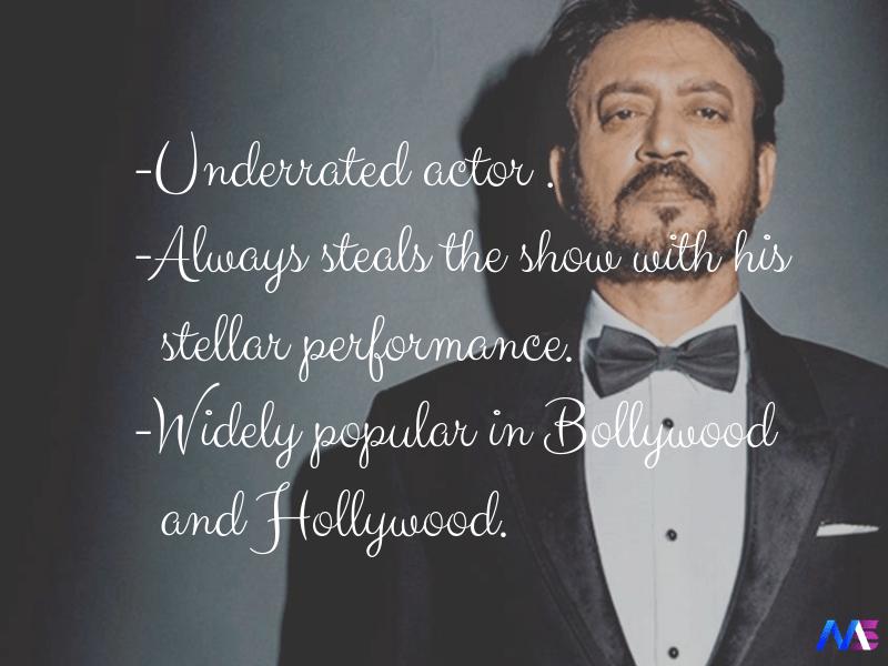 irrfan khan bollywood