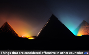 Things that are considered offensive in other countries