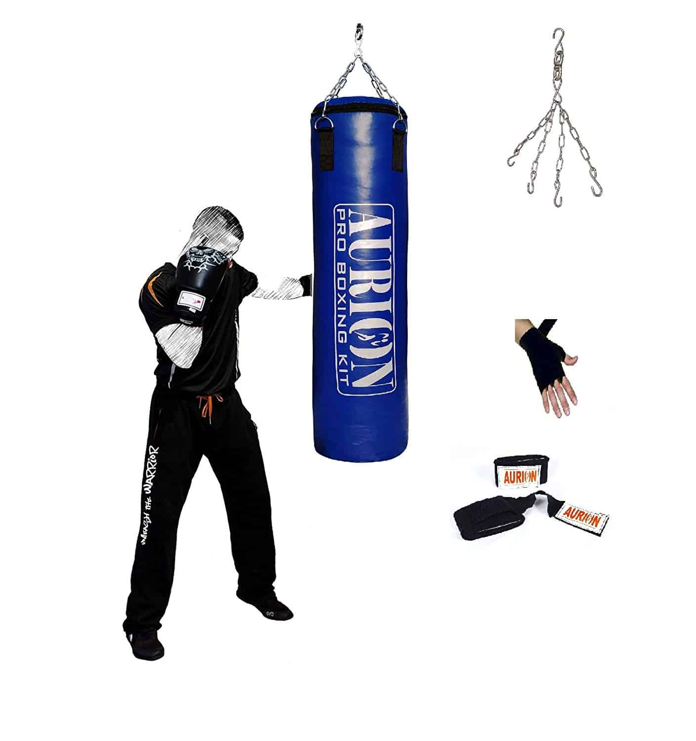 punching bag for getting the aggression out