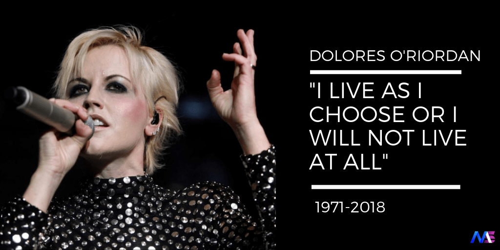 DOLORES O'RIORDAN QUOTES