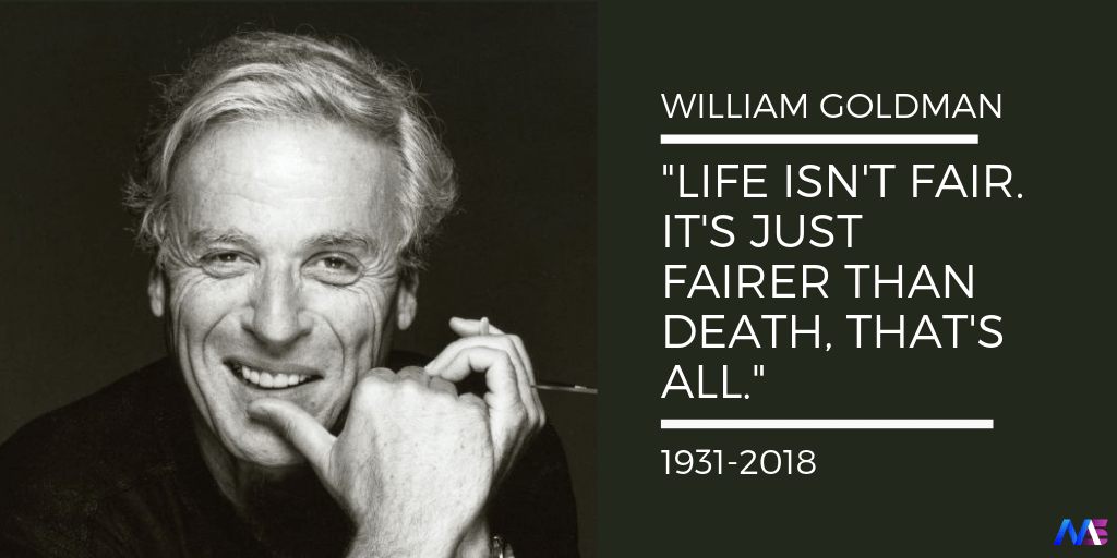 WILLIAM GOLDMAN QUOTES