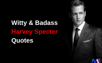 Witty & Badass Harvey Specter Quotes