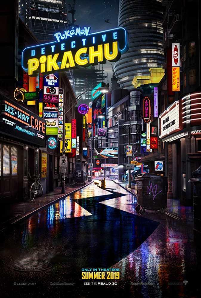 Detactive Pikachu