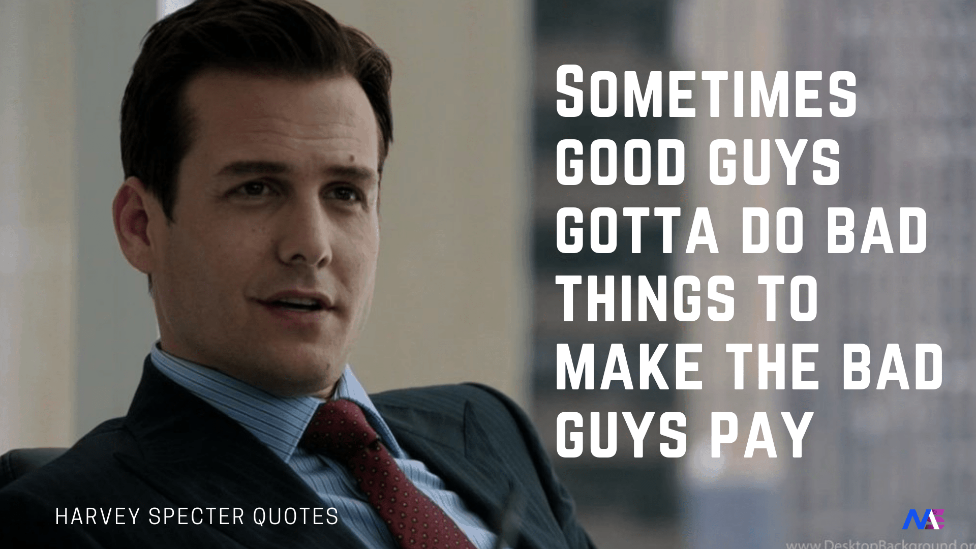 27 Witty & Badass Harvey Specter Quotes That Will Motivate You