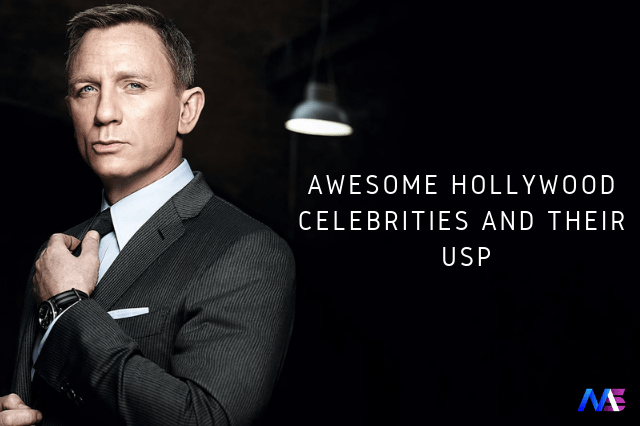 AWESOME HOLLYWOOD CELEBRITIES AND THEIR USP