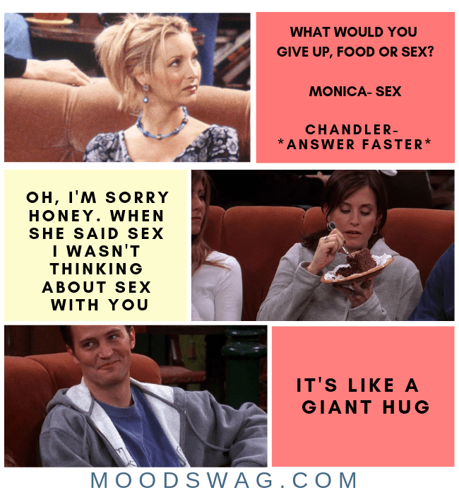 CHANDLER BING ONE LINERS