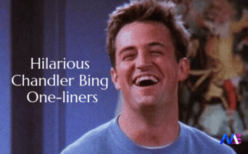 Hilarious Chandler Bing One-liners