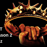 Game of thrones season 2 quiz