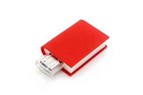 book shaped pen drive