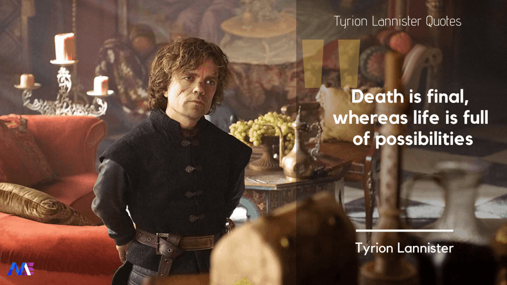 Tyrion Lannister Quotes 9
