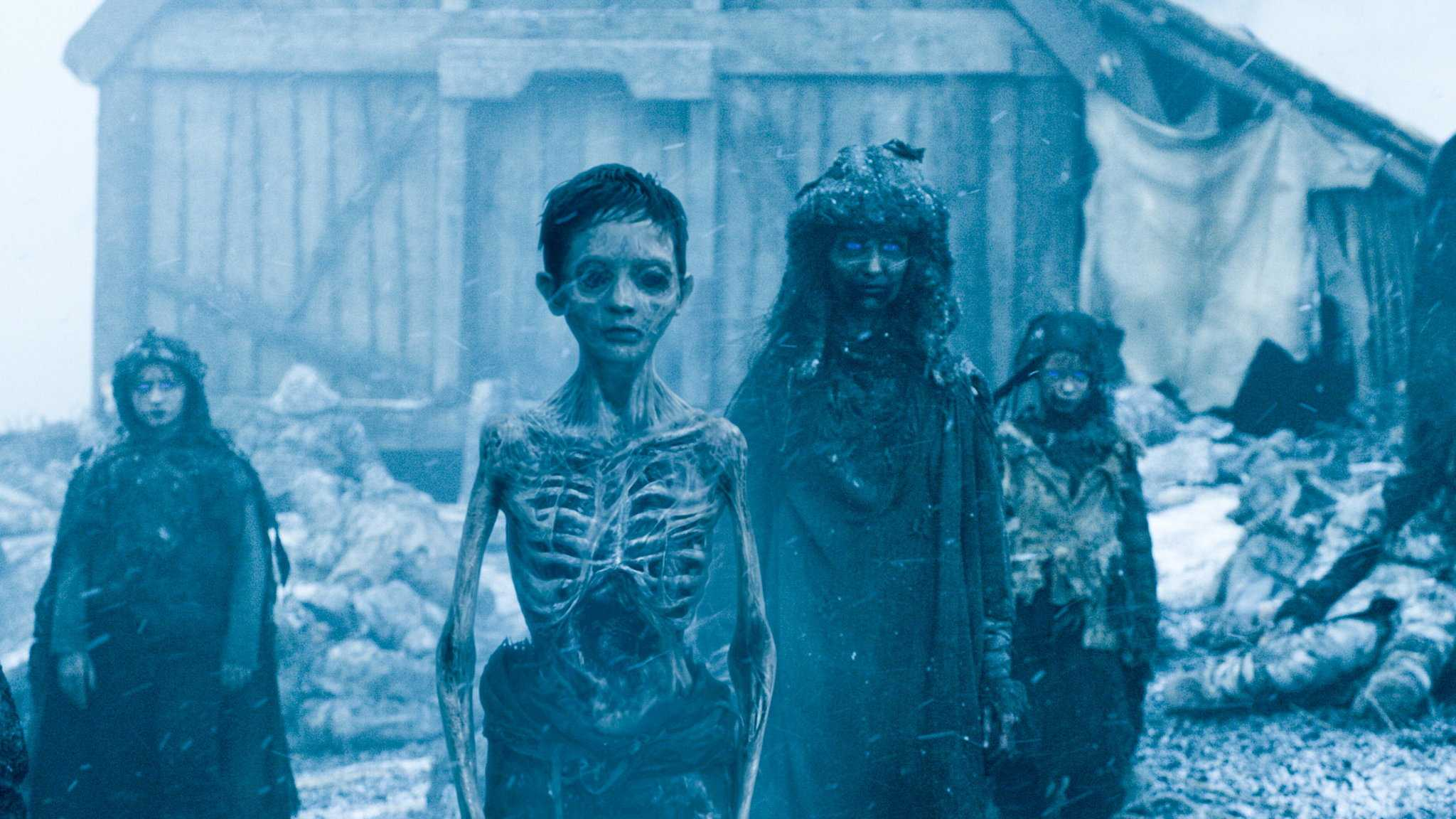 White walkers at hardhome