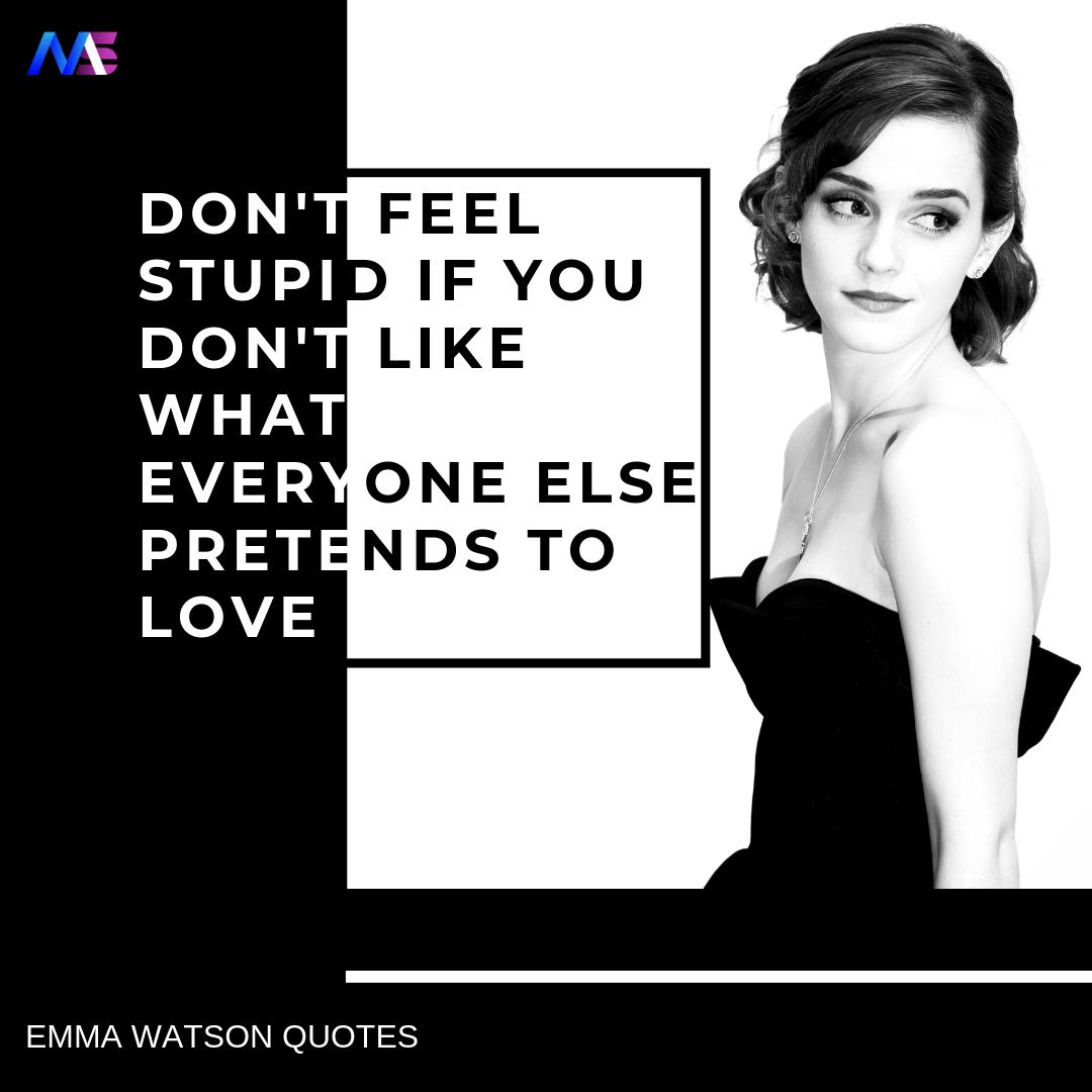 Emma Watson Quotes 1