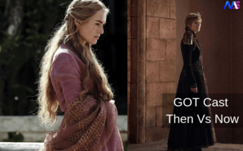 Game of thrones character then vs now
