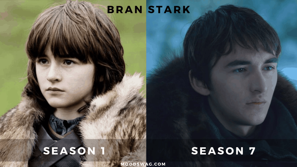 bran stark then vs now