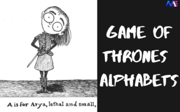 game of thrones alphabets