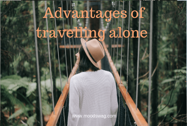 Why is travelling alone better than travelling in a group.
