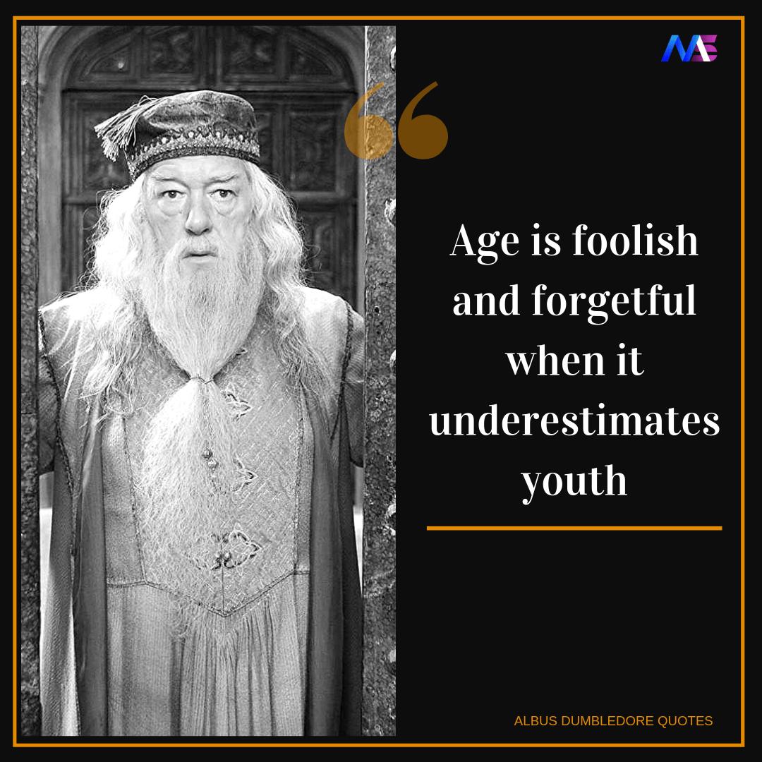 Albus Dumbledore quotes