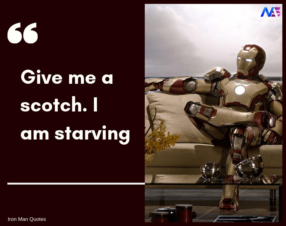iron man quotes