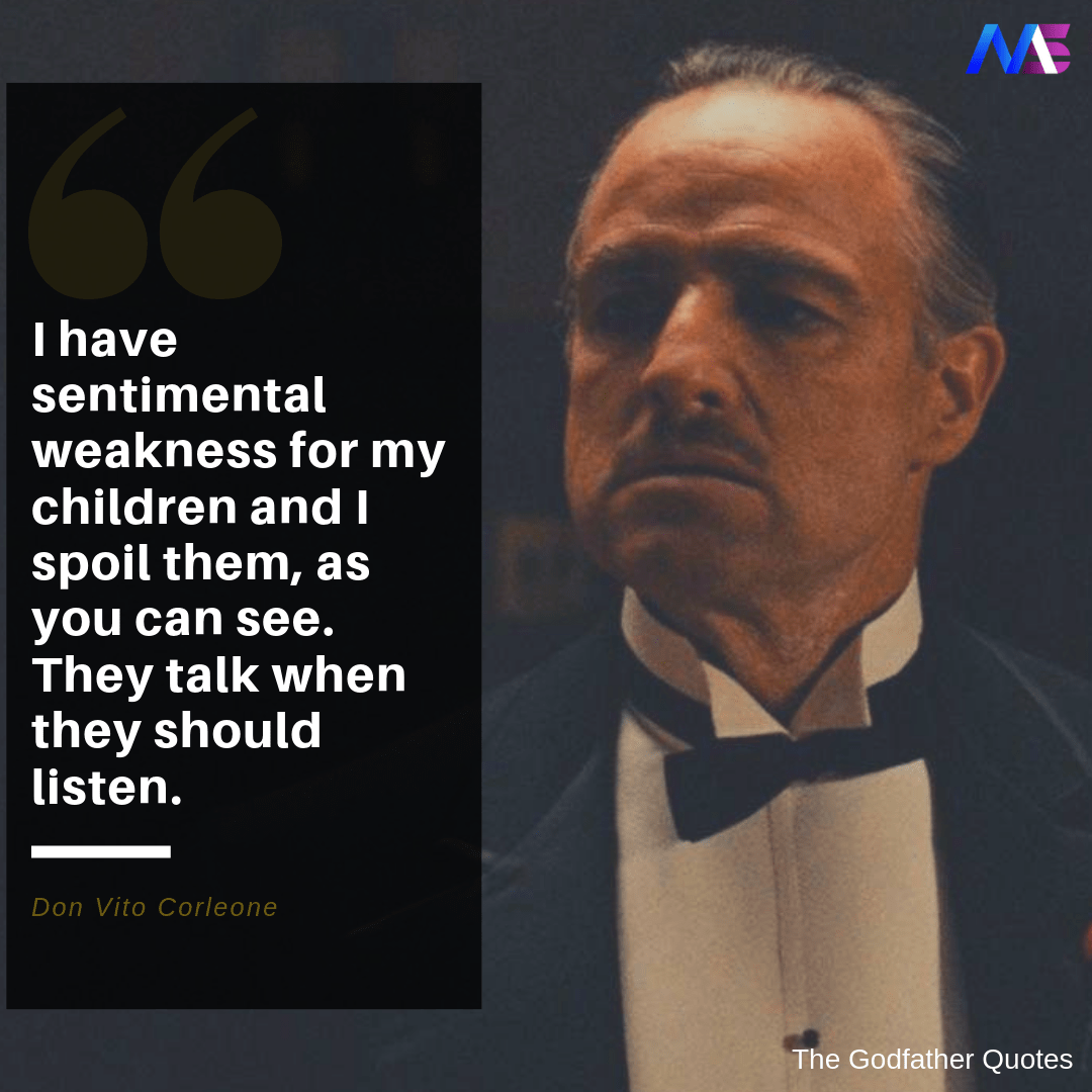 the godfather quotes