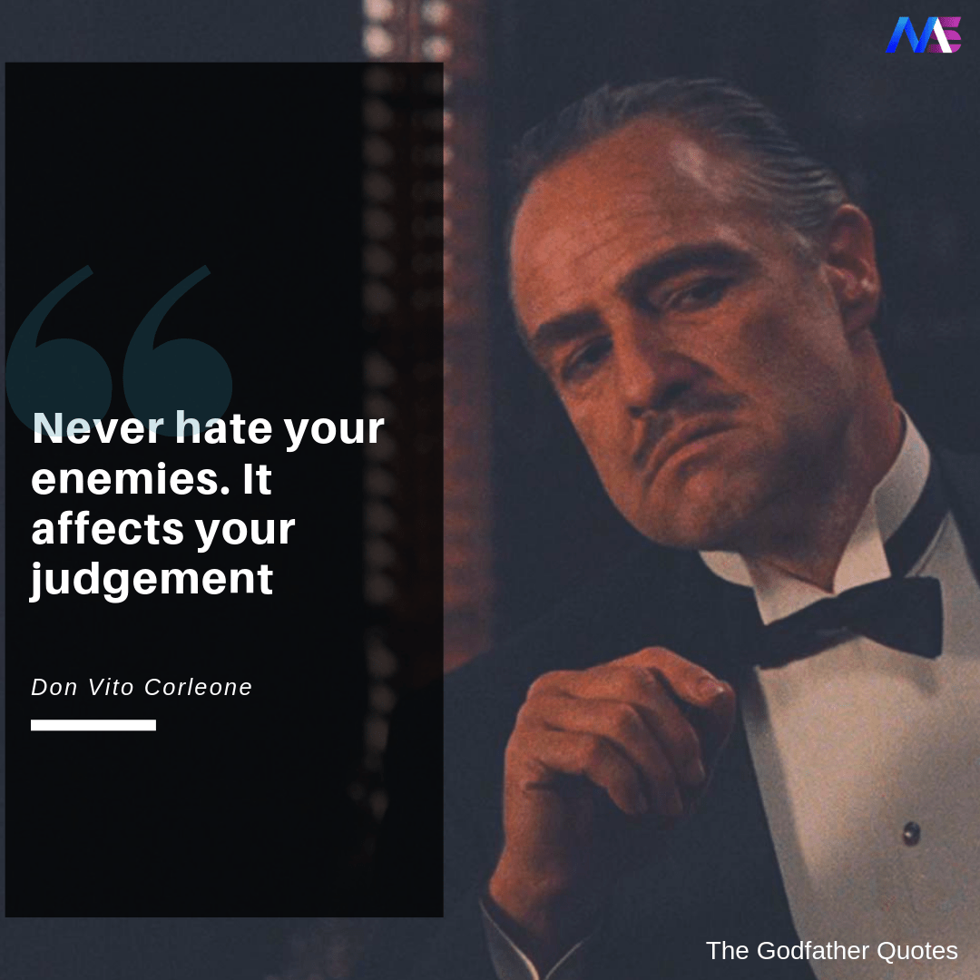 Don Vito Corleone quotes