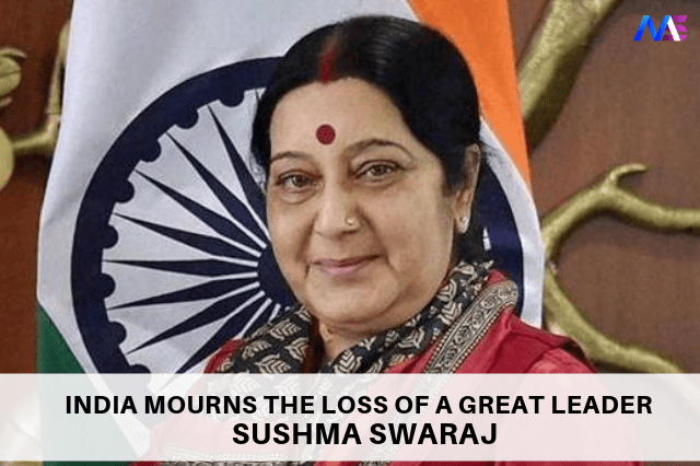 Sushma Swaraj Passes Away at 67 | India Mourns