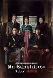 mr. sunshine korean drama poster
