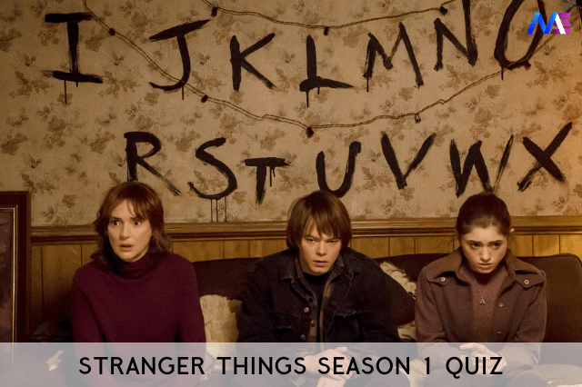 stranger things season 1 quiz