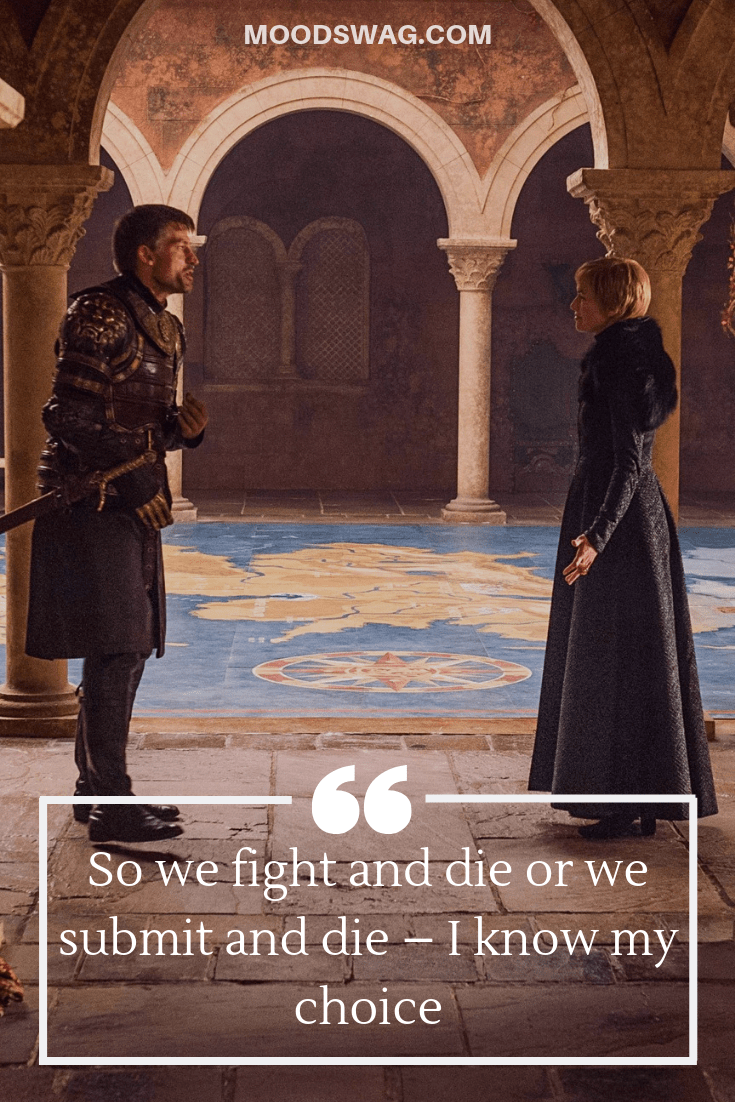 Badass Cersei Quotes