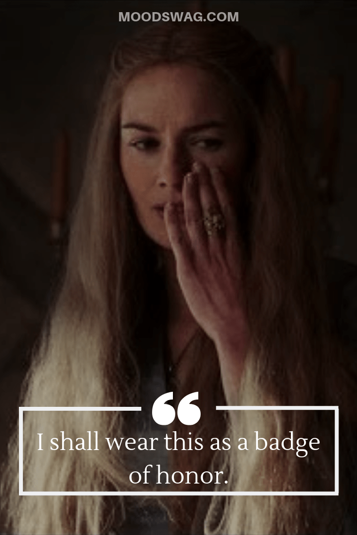 Badass Cersei Slapped Quotes