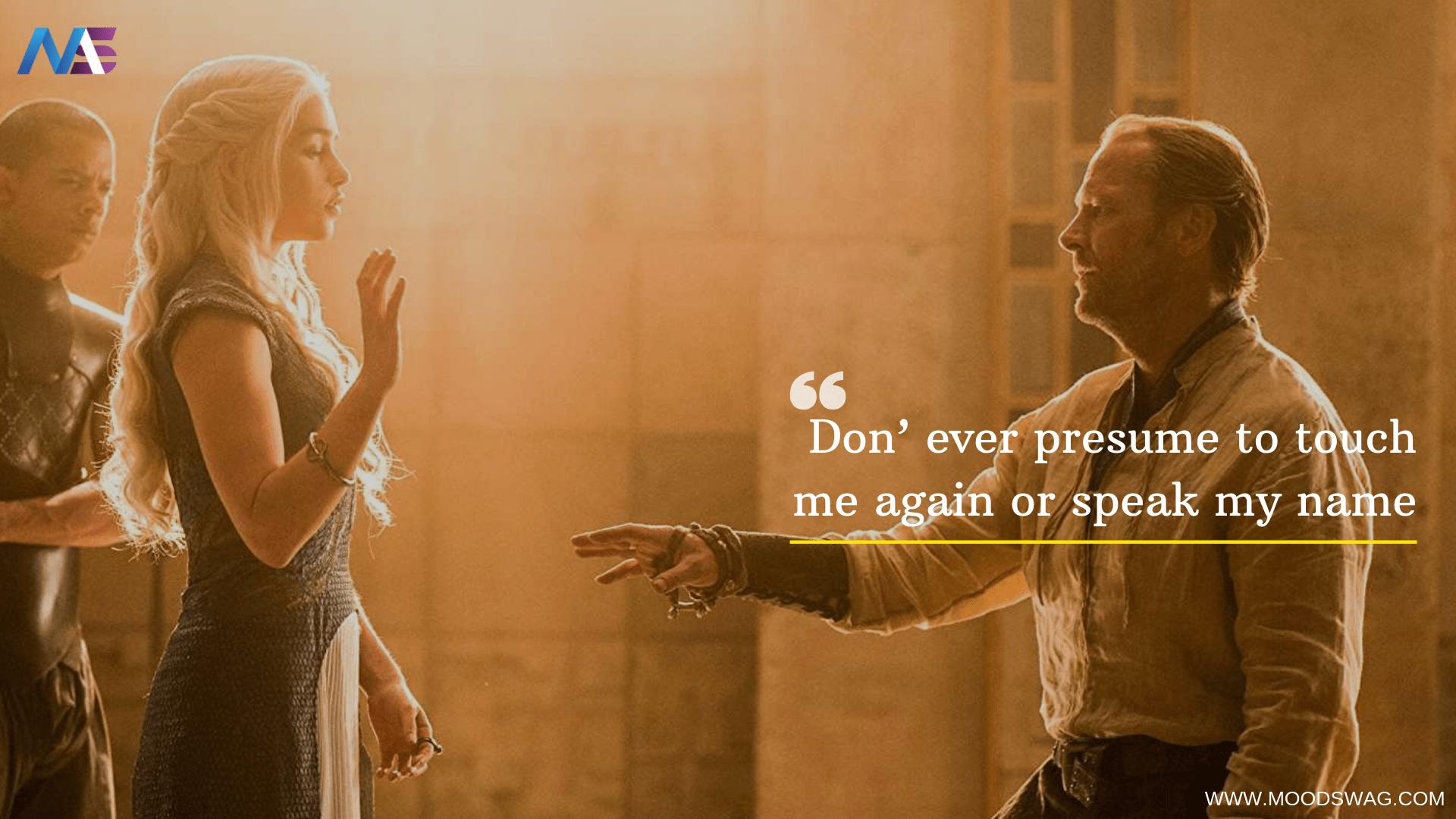 Daenerys Targaryen Season 5 quotes