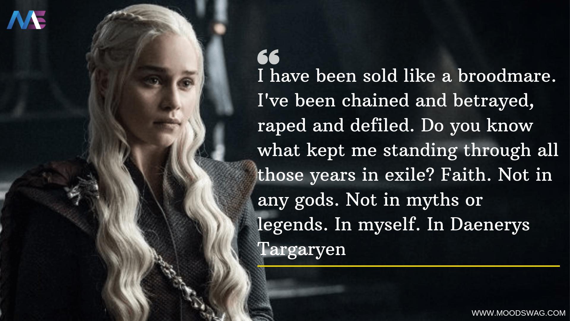 Daenerys Targaryen Season 7 Quotes