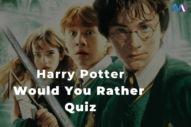 This is the Toughest Would You Rather Harry Potter Game.