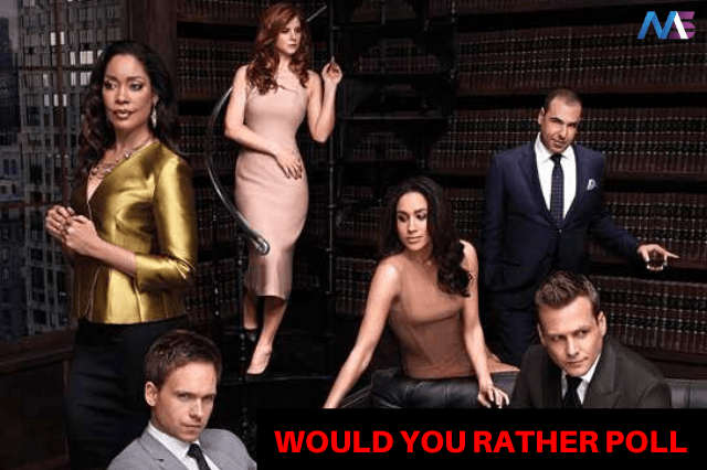 SUITS WOULD YOU RATHER POLL