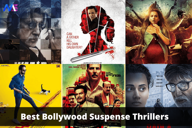 Best Bollywood Suspense Thrillers